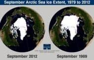 La disminución del hielo ártico provoca un gran cambio en las cartografías