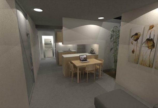 Casa-Refugio-subterráneo-vista-general-interior