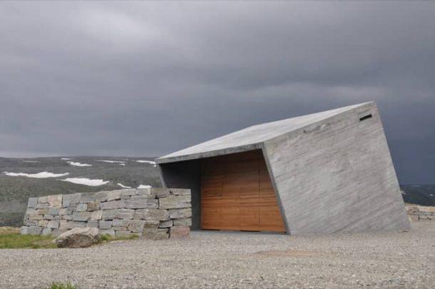 Flotane-refugio-lavabos-Noruega