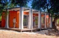 Nomad Living: contenedor como habitación de huéspedes