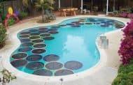 Calentar el agua de la piscina con poco dinero