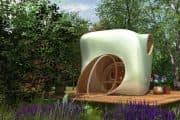 Entwurf Gartenhaus: una compleja caseta para trabajar