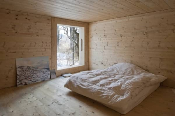 dormitorio-nivel-intermedio-Windig-casa-minima-madera