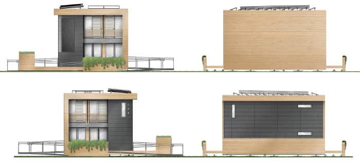 Maison reciprocity prototipo para viviendas - Casa ecologica prefabricada ...