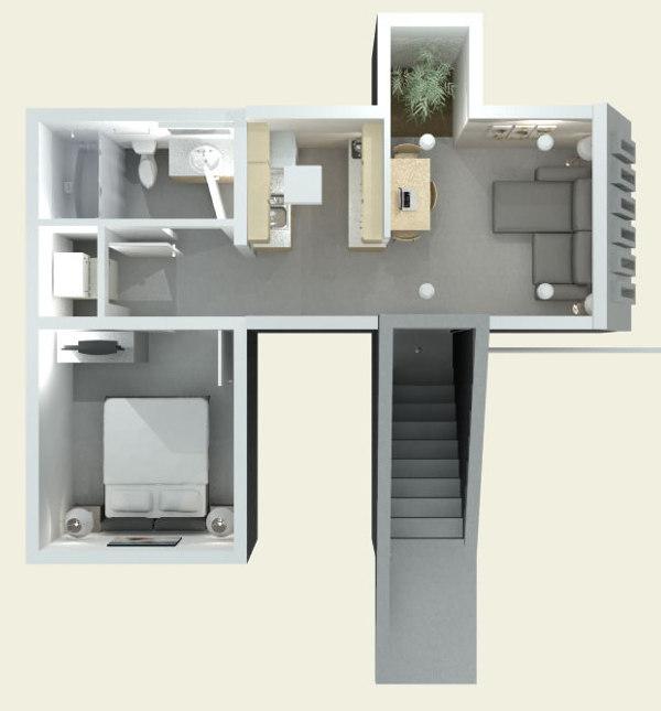 plano-render-Casa-Refugio-subterráneo