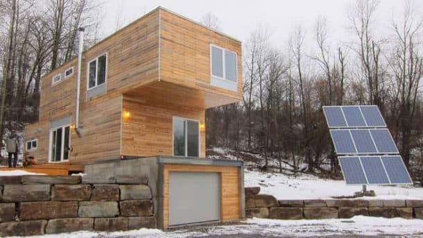 casas modulares de lujo construidas por MEKA