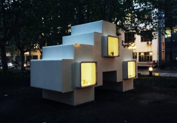 Micro-Casa-fibra-vidrio-nocturno