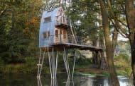 Solling: un refugio en los árboles, de Baumraum