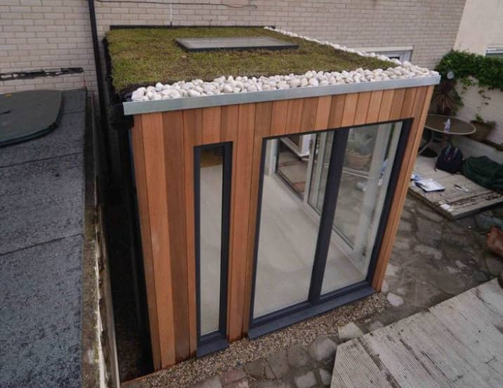 Casetas prefabricadas helix studio del fabricante garden for Casetas para terrazas