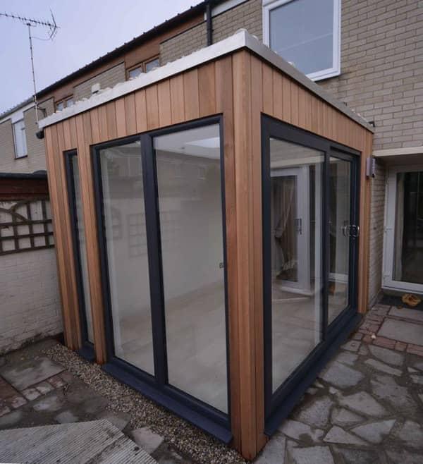 Casetas prefabricadas helix studio del fabricante garden for Habitaciones prefabricadas para terrazas