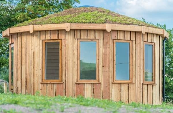 Rotunda living casetas prefabricadas ecol gicas y modulares - Casetas de exterior aki ...