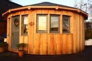 Las construcciones prefabricadas de Rotunda Living