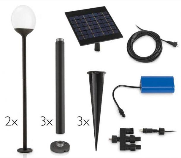 componentes-lampara-poste-Blossom-myGarden_Solar