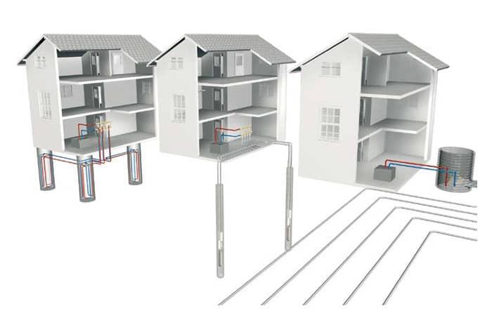 La energía geotérmica aplicada a viviendas