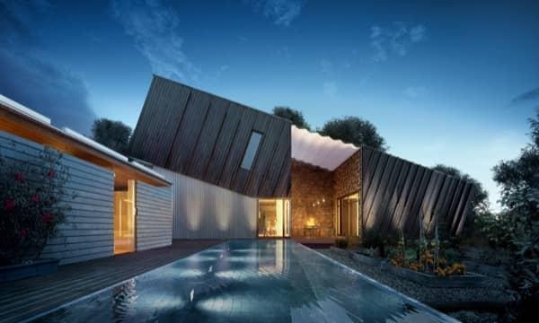 exterior-Casa-ZEB-vivienda ecologica