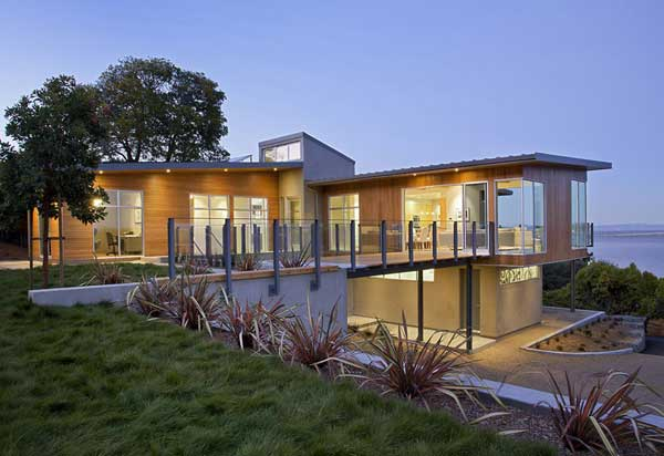exterior-Tiburon Bay House