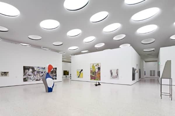 La azotea ajardinada del museo st del en frankfurt for Design museum frankfurt