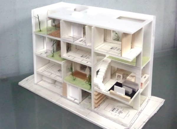 Maquetas de casas por dentro imagui for Como hacer un despacho en casa