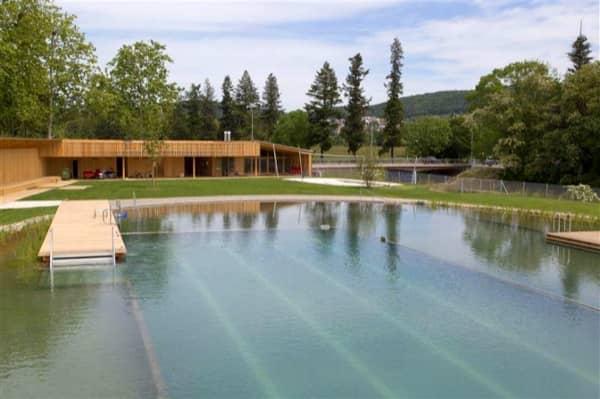 piscina natural Riehen-Suiza