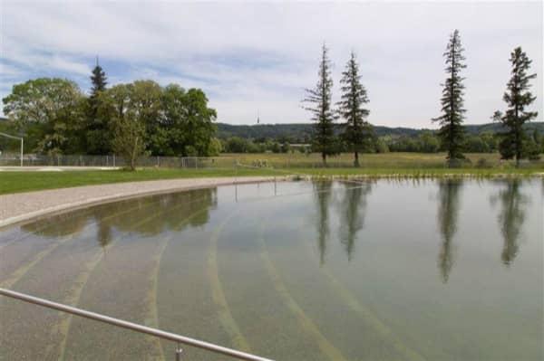 piscina natural Riehen-playa
