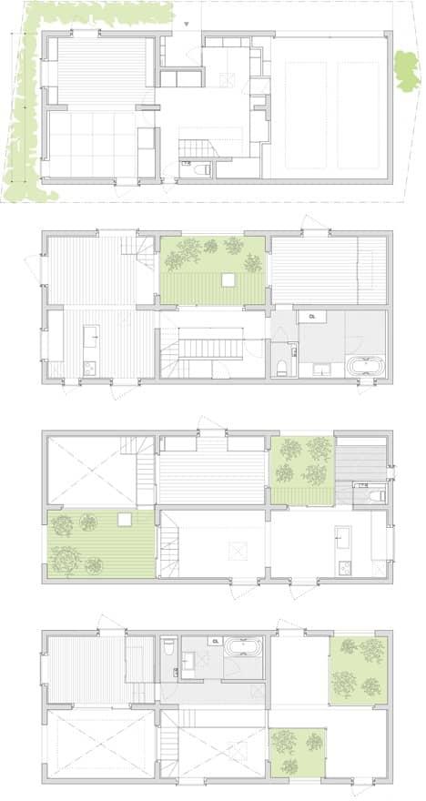planos-planta-Casa_K-con patios ajardinados-15