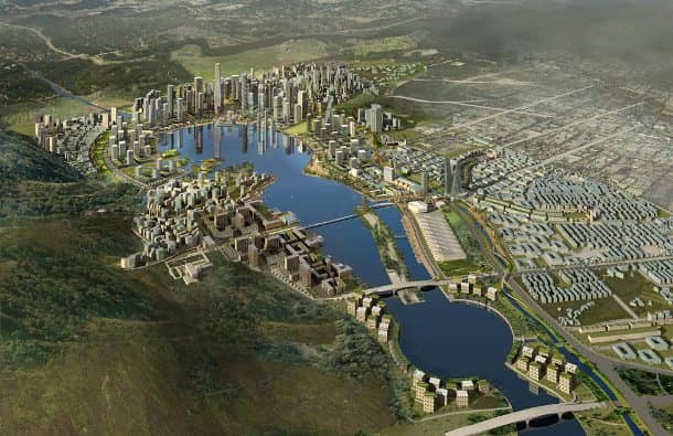 Meixi-desarrollo-sostenible-Changsha-vista-aerea