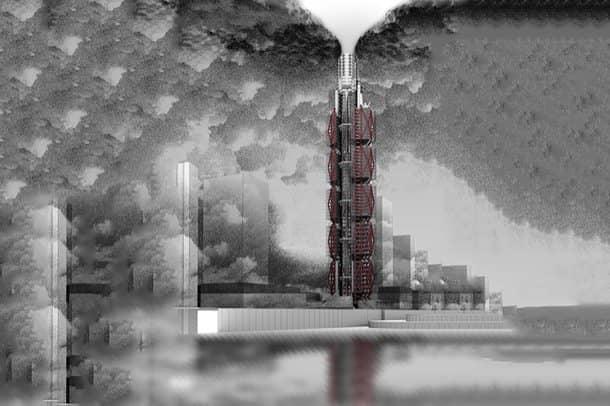 Clean-Air-Tower edificio que limpia el aire