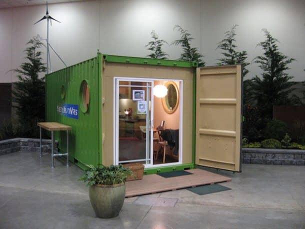 casas a partir del reciclado de contenedores