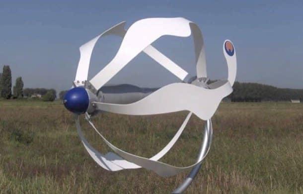 aerogeneradores domésticos Energy Ball