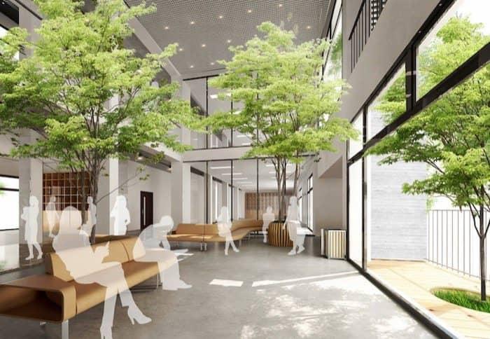 Arquitectura con rboles en la universidad fpt vietnam for Arbol interior