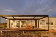Cabaña prefabricada en Tintaldra (Australia)