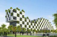 Arquitectura con árboles para la Universidad FPT (Vietnam)