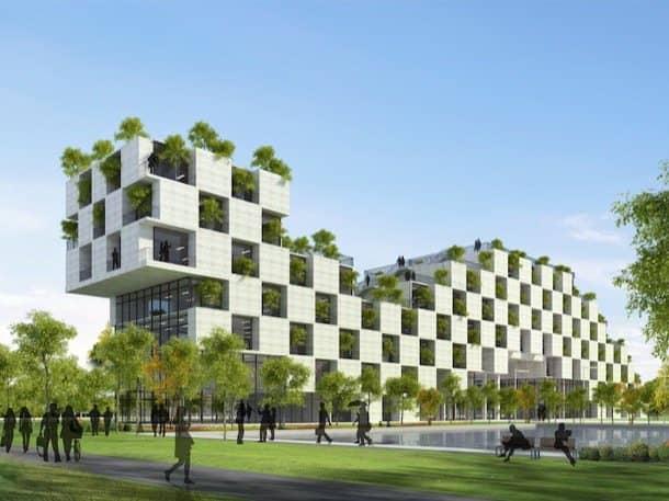 arquitectura con arboles Universidad FPT