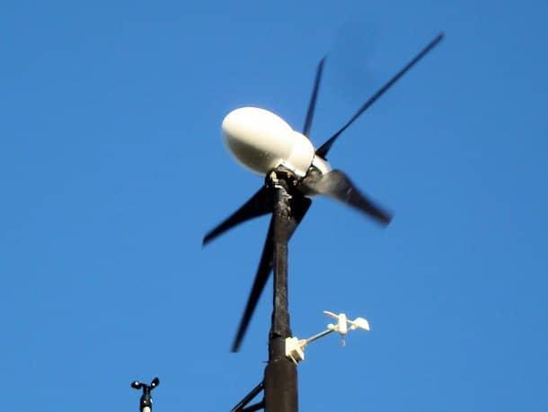 Bee-800 aerogenerador doméstico