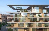 Arquitectura con vegetación para un bloque de Roma