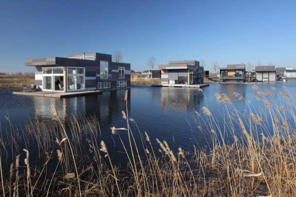 Casas-flotantes-Drijf-in-Lelystand