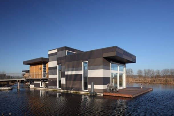Casas flotantes prefabricadas en holanda - Arquitectura rustica moderna ...