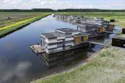 Drijf-in Lelystad: casas flotantes prefabricadas