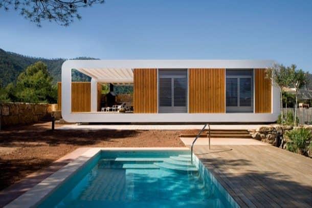 El-Refugi casa prefabricada ecologica