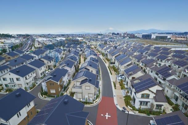 Fujisawa-SST ciudad inteligente vista general