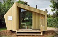 Trek-In: cabaña prefabricada con madera FSC