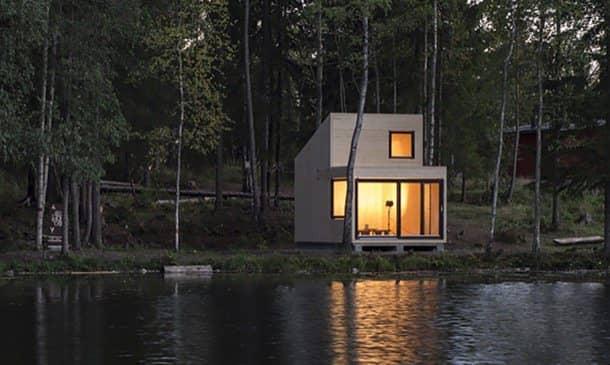 Woody15 refugio de madera en Noruega