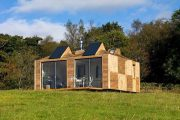 Brockloch Bothy: casa ecológica de módulos prefabricados