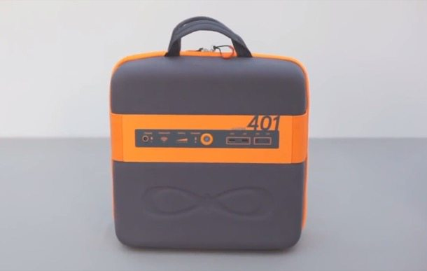 KaliPAK generador solar portátil en maletín