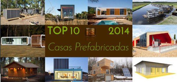 TOP10 de casas prefabricadas 2014