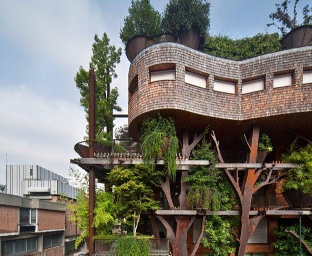 25-Green arquitectura con vegetación en Turín