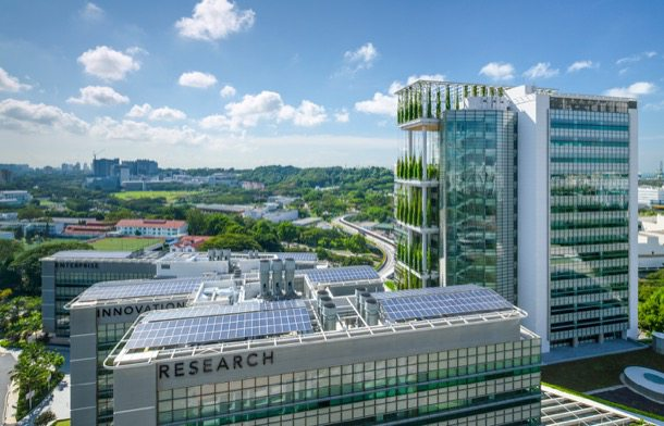 CREATE-Singapur arquitectura sostenible