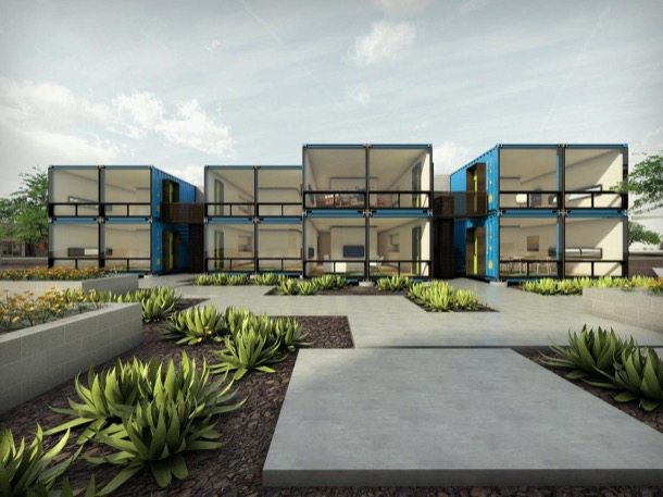 Containers-On-Grand-render-fachada