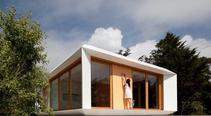Mima house arquitectura prefabricada moderna - Casa prefabricadas portugal ...