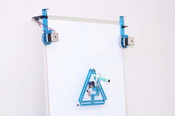 robot de dibujo mDrawBot-mSpider